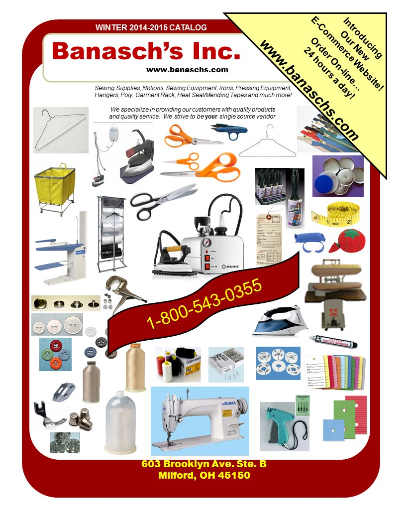 Alteration, Tailoring and Sewing Supplies