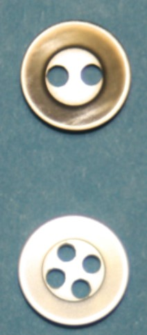 17P Polyester Shirt Buttons