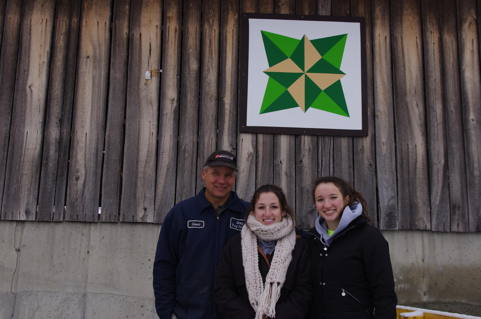 barn quilt, Motz Turf Farm, history of barn quilts