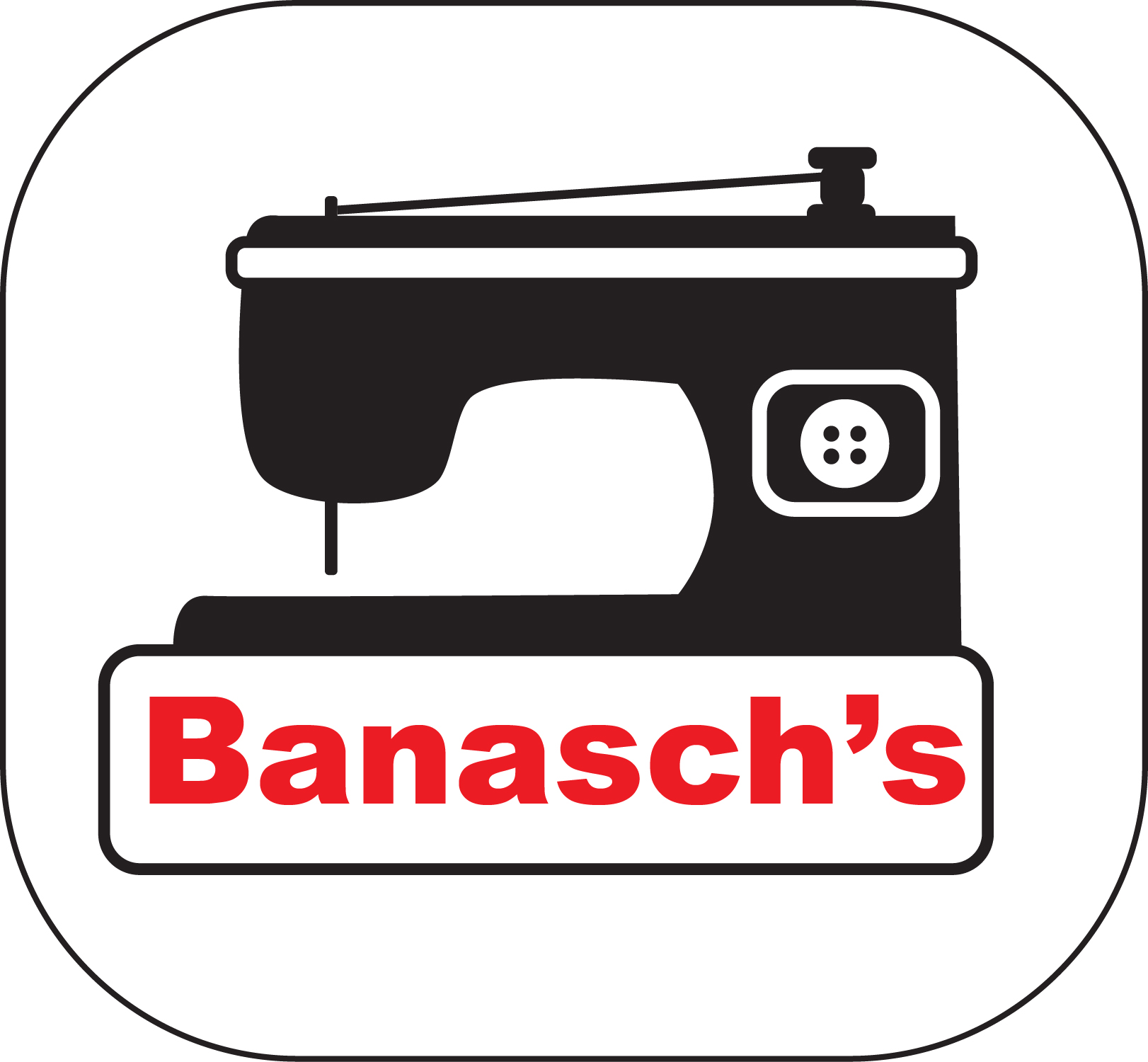 Banasch's Inc. Wholesale Sewing Supplies Distribution, Logo