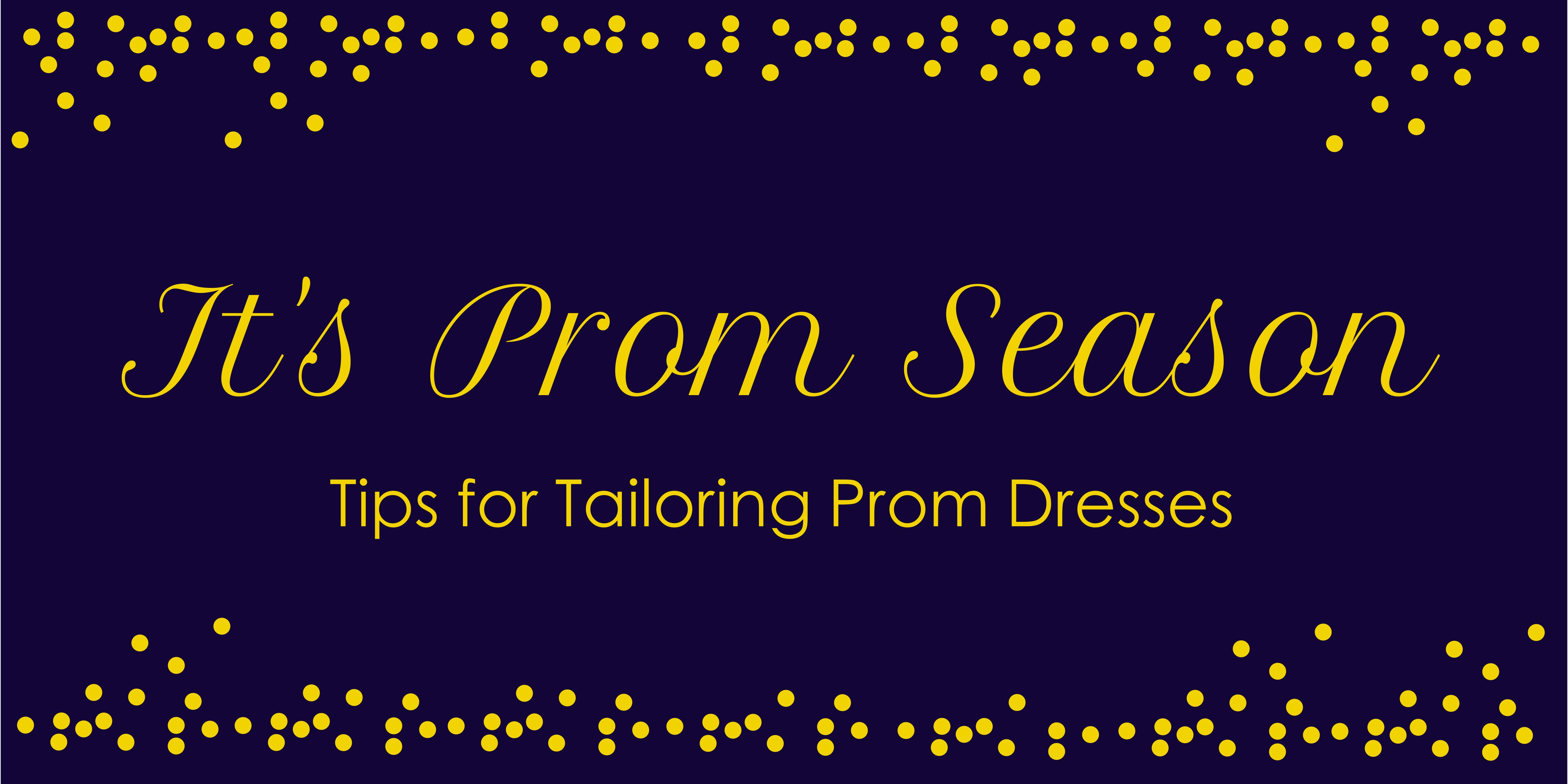 Tips for Tailoring Prom Dresses